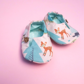 Enchated Bambi Baby Booties