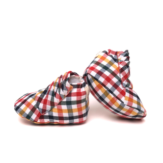 Ayden Booties Color Checkered