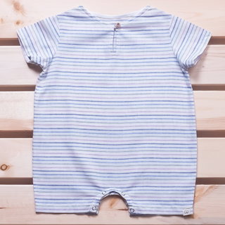 Spring Collection : Evan Jumper - Blue Green Stripe