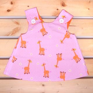 Spring Collection : Giraffe Pinafore 30% Off!