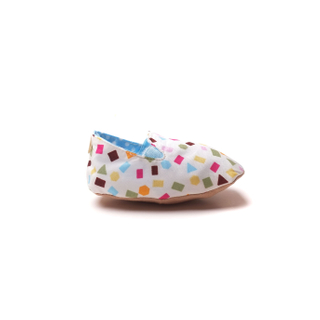 Oh Blue Confetti Booties