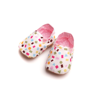 Oh Pink Confetti Booties