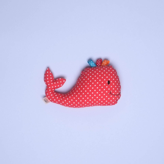 Rattle Whaley Plush Toy