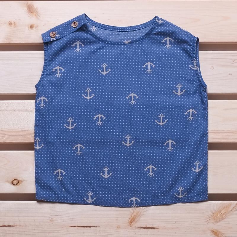 Spring Collection : Marshall Box Tee - Nautical Blue