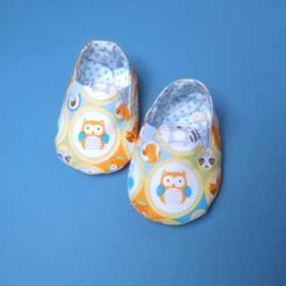 Forest Friend Owl Booties