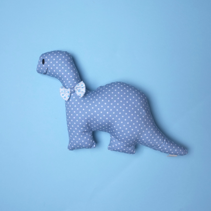 Rattle Dino Plush Toy