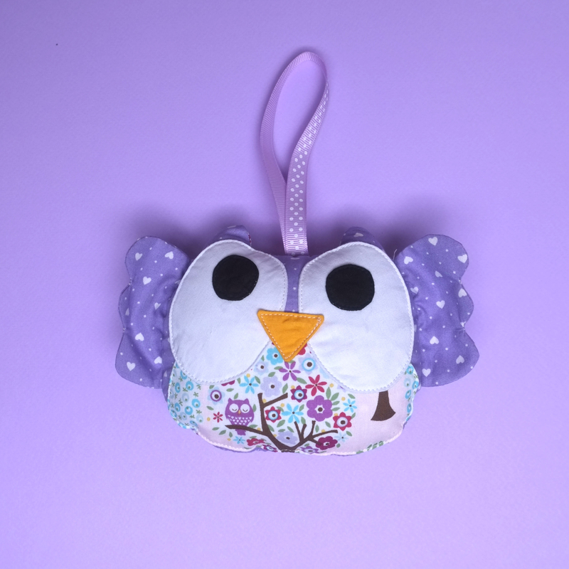 Owl Rattle Plush Toy