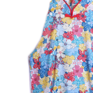 Exclusive Flower Power Mommy Cheongsam
