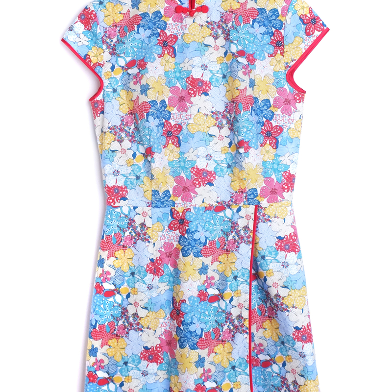 Exclusive Flower Power Mommy One-piece Jumpsuit