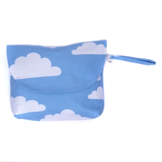Blue Skies Diaper Wallet