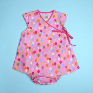 Baby Kimono- Balloon Pink
