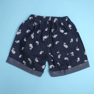 Denim Whales Bermuda Shorts