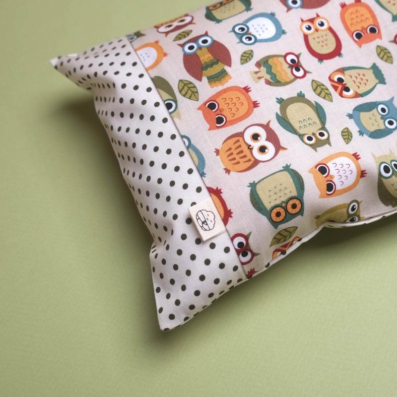 Anti-flat head pillow Wise As An Owl