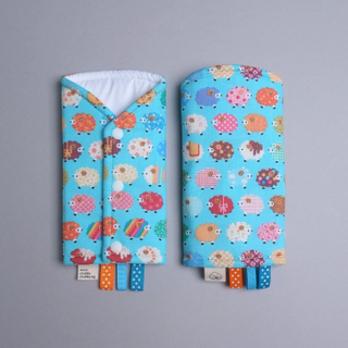 Cute little baa baa Turq Drool Pads