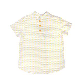 Triangle Pastel Mandarin Shirt