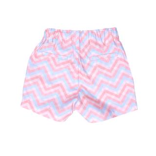 Boy Shorts - Pastel Chevron