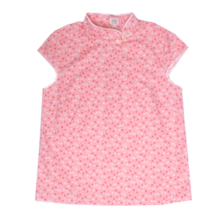 Mommy's Top- Sweet Pink Flowers