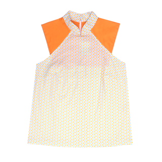 Mommy's Raglan Top- Triangle Pastel