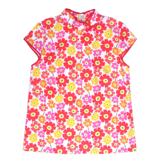 Mommy's Top- Spring Flowers