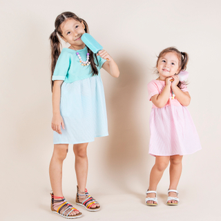 Candy Summer Dress Pink
