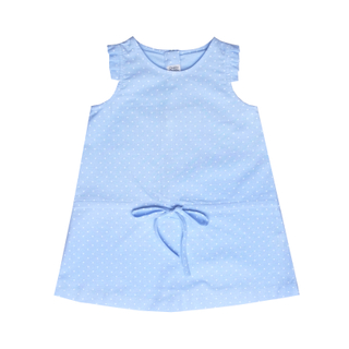 Baby Blue Dot Lila Dress