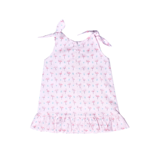 Flamingo Knot Dress