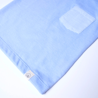 Summer Stripe Tee-Blue