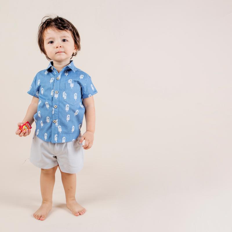 Denim Icecream Shirt