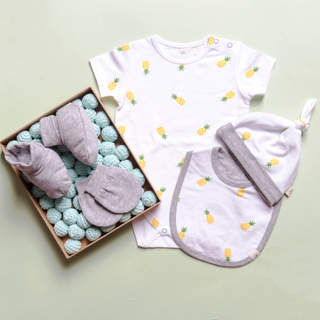 Baby Layette- Pineapples