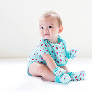 Baby Layette- Teal Watermelons