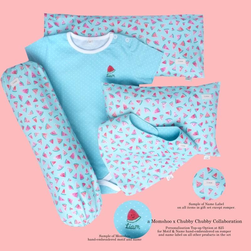 Teal Watermelon Gift Set