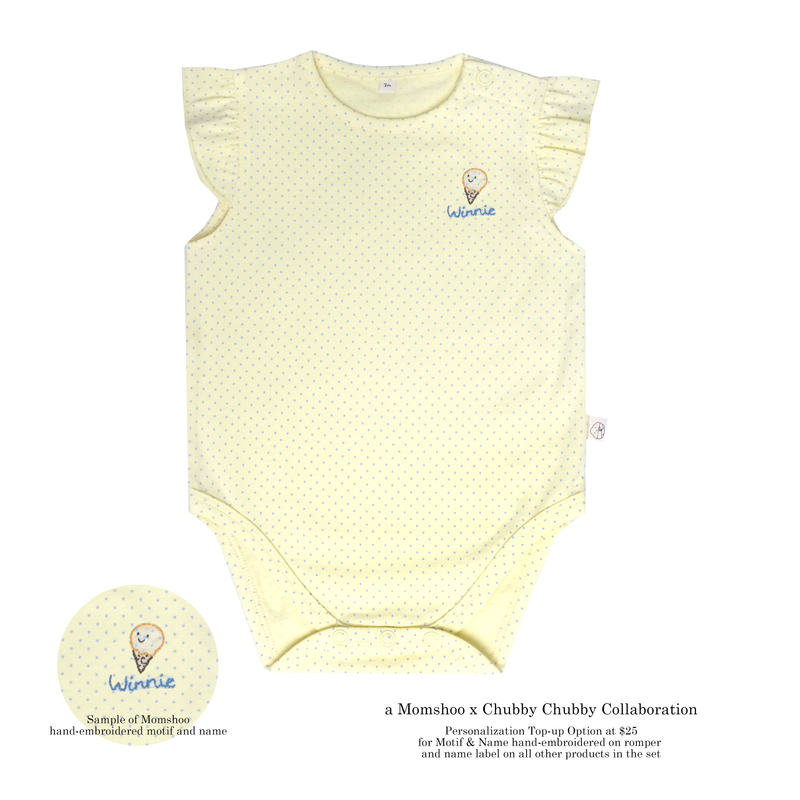 Icecream Love Gift Set -Yellow