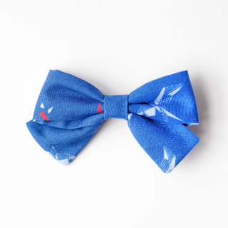 BowtifulJoy x Chubby Chubby Bows- Navy Red Swallows