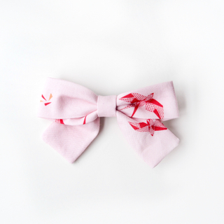 BowtifulJoy x Chubby Chubby Bows-Pink Red Swallows