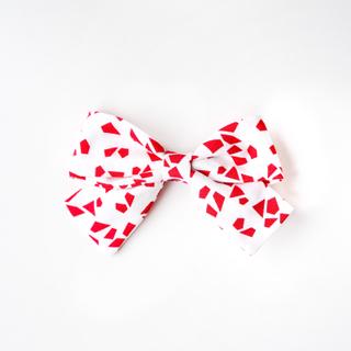 BowtifulJoy x Chubby Chubby Bows-Red Geometric