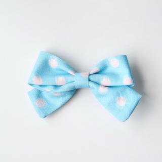 BowtifulJoy x Chubby Chubby Bows- Blue Pink Dots