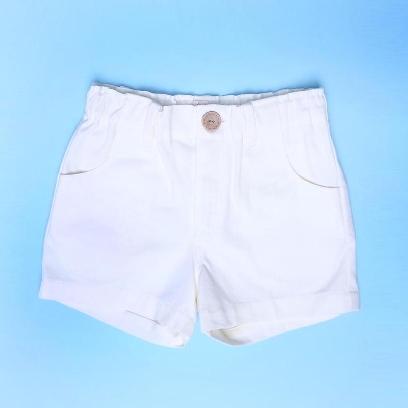 Boy Bermudas- White