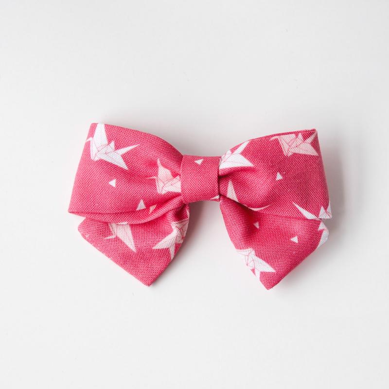 BowtifulJoy x Chubby Chubby Bows- Coral Cranes