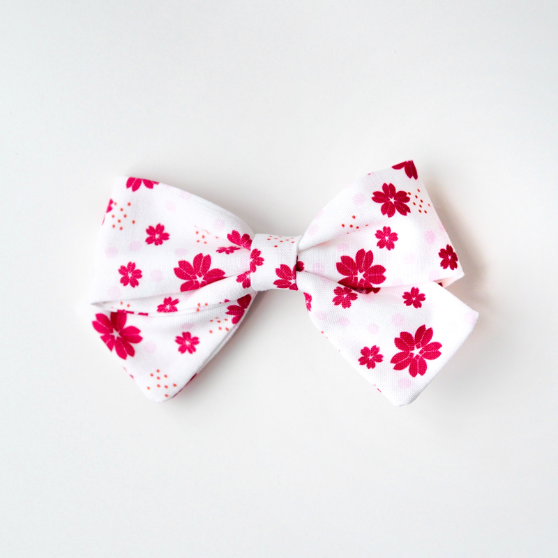 BowtifulJoy x Chubby Chubby Bows- Red sakura