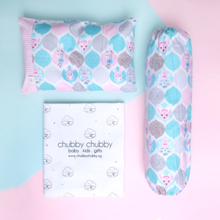 Two is better than one bundle- Pillow & Bolster Whimsical Bambi