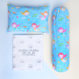 Two is better than one bundle- Pillow & Bolster Mermaid Friends