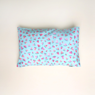 Anti-flat head pillow Teal Watermelon