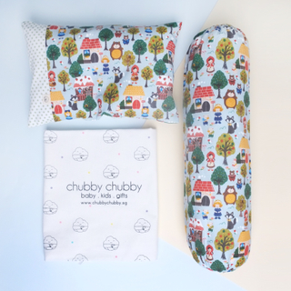 Two is better than one bundle- Pillow & Bolster Little Bear Friends