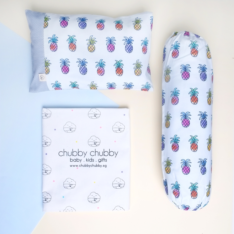 Two is better than one bundle- Pillow & Bolster Pineapple Craze
