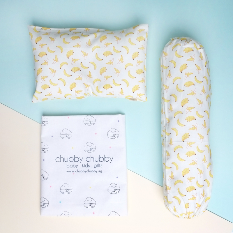 Two is better than one bundle- Pillow & Bolster Go Bananas