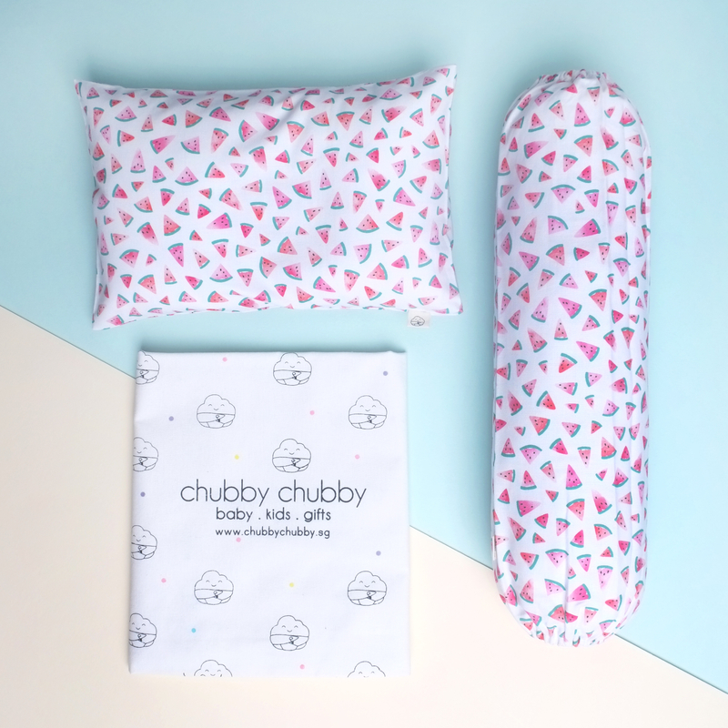 Two is better than one bundle- Pillow & Bolster Watermelons