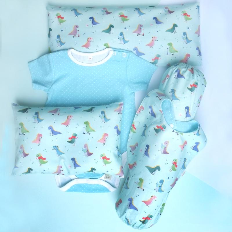 Mint Playful Dinos Gift Set