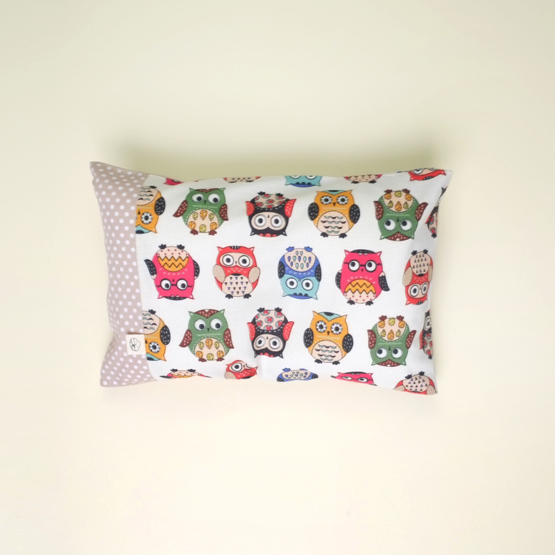 Anti-flat head pillow Oh Funky Owls
