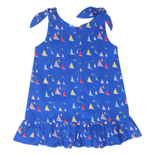 Midnight Tent Knot Dress