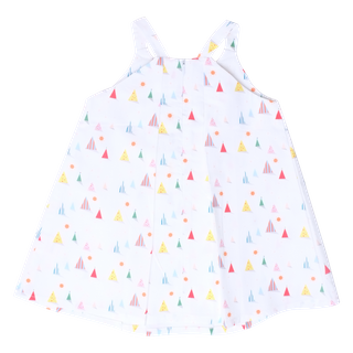 Day Tent Pleat Dress